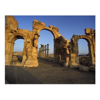 Monumental Arch, Palmyra, Homs, Syria Postcard