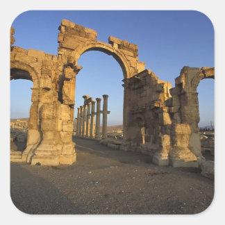 Monumental Arch, Palmyra, Homs, Syria Sticker