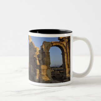 Monumental Arch, Palmyra, Homs, Syria Two-Tone Coffee Mug