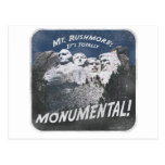 Monumental Mt. Rushmore Post Cards