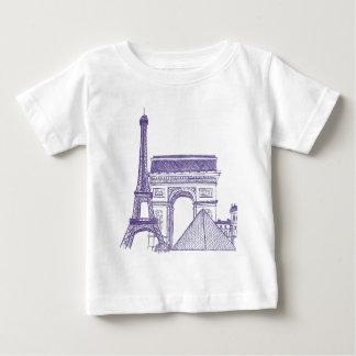 Monuments of Paris T Shirts