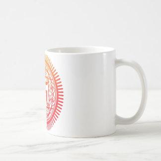 Monyou 14 basic white mug