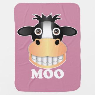Moo - Baby Blanket Buggy Blanket