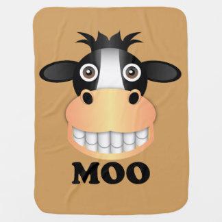 Moo - Baby Blanket Buggy Blankets