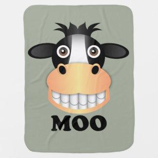 Moo - Baby Blanket Pramblanket