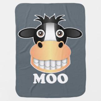 Moo - Baby Blanket Pramblankets