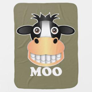 Moo - Baby Blanket Swaddle Blankets
