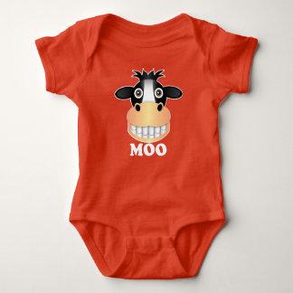 Moo - Baby Jersey Bodysuit Shirts