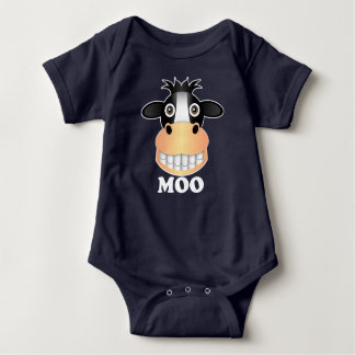 Moo - Baby Jersey Bodysuit Tee Shirt