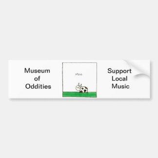 Moo Bumper Sticker