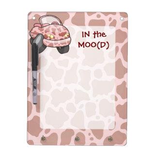 Moo Car Dry Erase Board