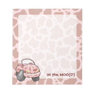 Moo Car Notepad