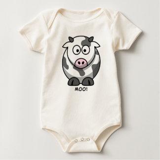 Moo Cow Baby Bodysuit