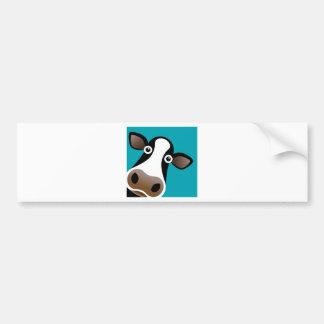 Moo Cow Bumper Sticker