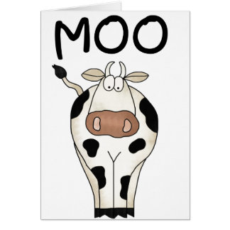 Moo Cow Card