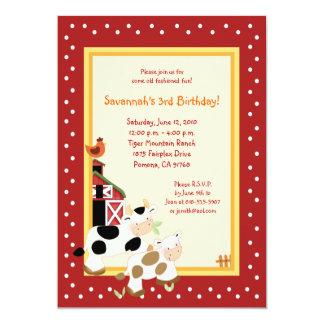Farm Birthday Invitations & Announcements | Zazzle.co.uk