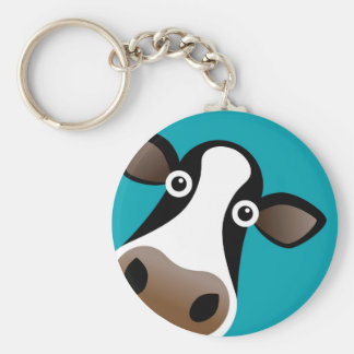 Moo Cow Key Ring