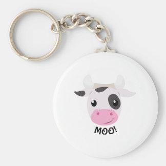 Moo Cow Key Ring