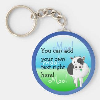 Moo-Cow Keychain