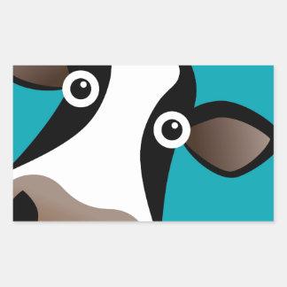 Moo Cow Rectangular Sticker