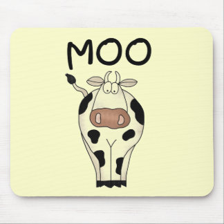 Moo Cow Tshirts and Gifts Mouse Pad