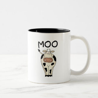 Moo Cow Tshirts and Gifts Two-Tone Coffee Mug
