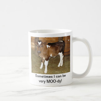 MOO-dy cup Basic White Mug