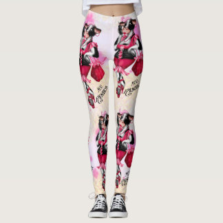 MOO FASHION COW LEGGINS LEGGINGS