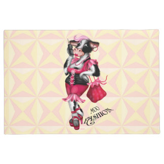 "MOO FASHION DOOR MAT  -24"" x 36"" Door Mat"