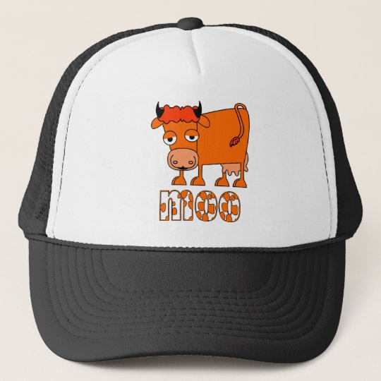 Moo - Ginger Cow Cap