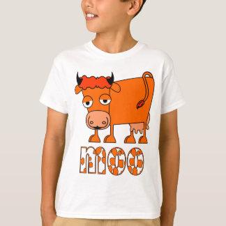 Moo - Ginger Cow - Junior T-shirt
