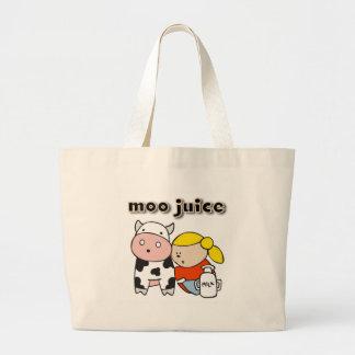 Moo Juice Tote Bags