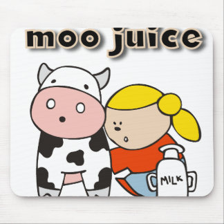 Moo Juice Mouse Pad