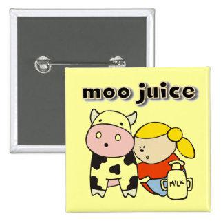 Moo Juice Tshirts and Gifts Pin
