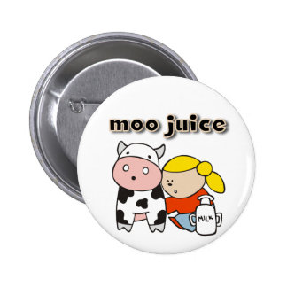 Moo Juice Tshirts and Gifts Button