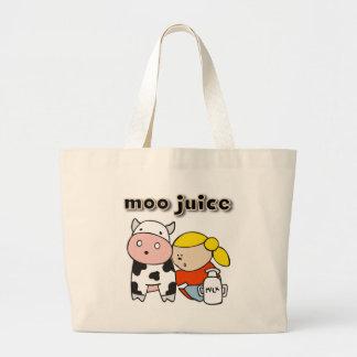 Moo Juice Tshirts and Gifts Tote Bag