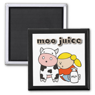 Moo Juice Tshirts and Gifts Refrigerator Magnet