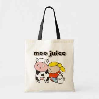 Moo Juice Tshirts and Gifts Tote Bag