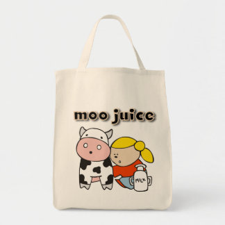 Moo Juice Tshirts and Gifts Canvas Bag