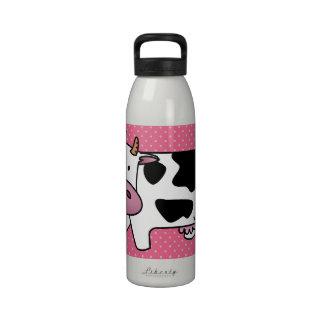 Moo Juice Reusable Water Bottle