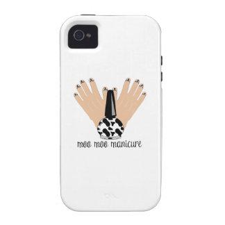 Moo Moo Manicure iPhone 4/4S Covers