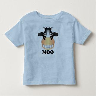 Moo - Toddler Fine Jersey T-Shirt Toddler T-Shirt