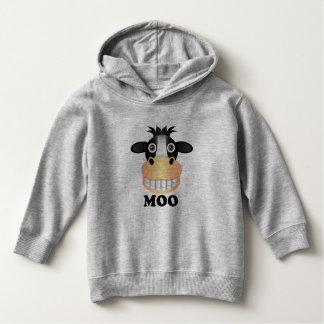 Moo - Toddler Pullover Hoodie