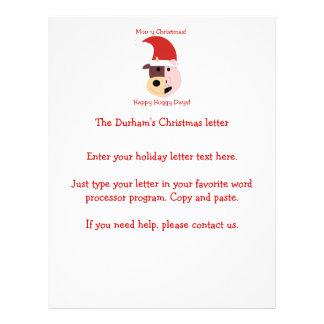 Moo-y Christmas and Happy Hoggy Days! 21.5 Cm X 28 Cm Flyer