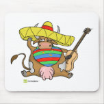 Moochacho the Mexi-cow! Mouse Pad