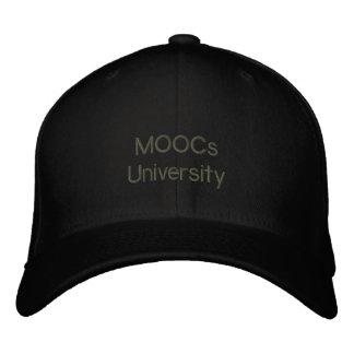 """MOOCs U"" Revolution Cap - Education for All Embroidered Hats"