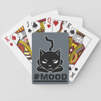 #MOOD Cat Playing Cards