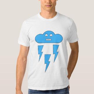 Mood Cloud T-Shirt (Angry/Lightning)