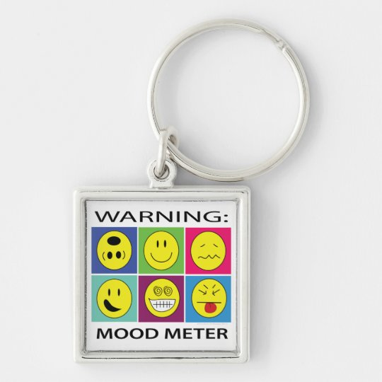 Mood Metre Key Chain