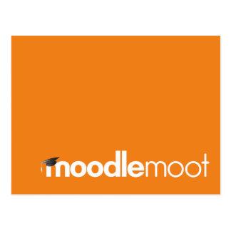 Moodle Moot postcard